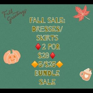 SALE! NEED EVERYTHING GONE!